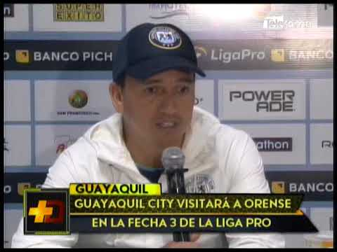 Guayaquil City visitará a Orense en la fecha 3 de la Liga Pro