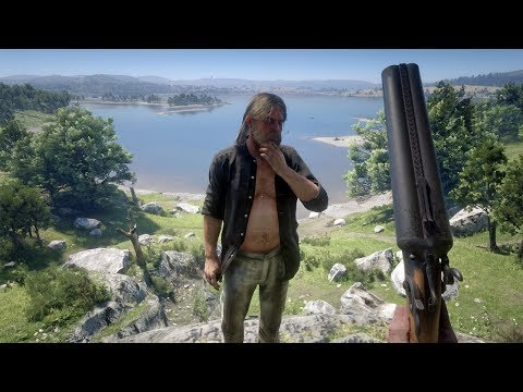 Red Dead Redemption 2 PC 60FPS - First Person Brutal Gameplay Vol. 41 (Euphoria Ragdolls)
