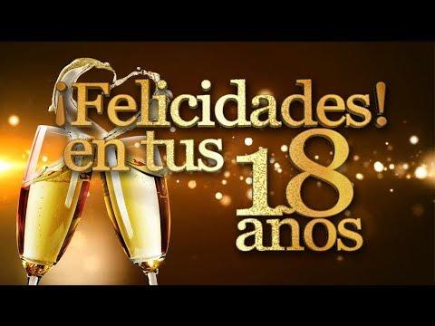 Frases lindas - MENSAJES DE FELIZ 18 AÑOS  FRASES DE FELIZ CUMPLEAÑOS  TARJETAS, FELICITACIONES PARA 18 AÑOS