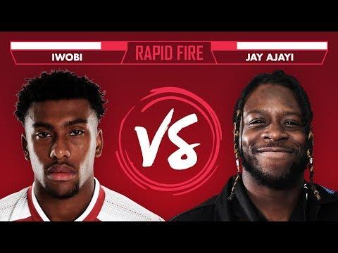 Premier League or NFL? Iwobi v Jay Ajayi | Super Bowl Rapid Fire (видео)