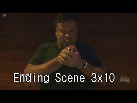 Lucifer 3x10 Ending Scene Luci Knows who Pierce really is (Hello Cain)  Season 3 Episode 10 S03E10