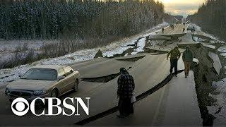 Video Lasting effects of Alaska's magnitude 7.0 earthquake MP3, 3GP, MP4, WEBM, AVI, FLV Desember 2018