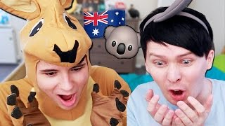 Come and see us on tour in AUSTRALIA! http://www.danandphiltour.com We dress up as some Aussie beasts and discuss the perils of this strange land! Pre-Order ...