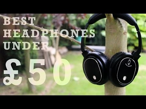 Best Noise Cancelling Headphones Under £50 - Juboury Solace Pro - (Unboxing and Review)