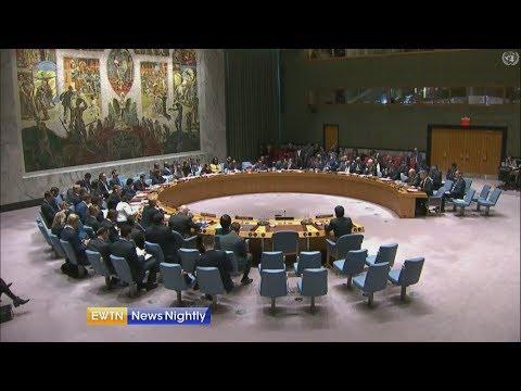 Secretary of State urges U.N. action on Iran - ENN 2018-12-12