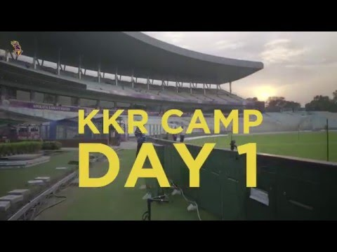 KKR Practice Camp Day 1 | Inside KKR Episode 3 | VIVO IPL - Indian Premier League 2016