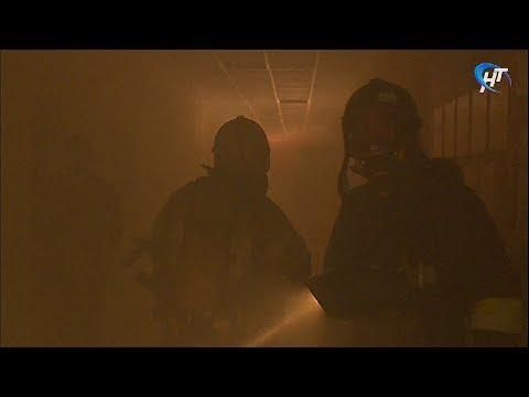 Во второй гимназии прошли пожарные учения