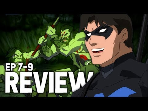 The Savage Time! Young Justice: Outsiders Episodes 7-9 Review