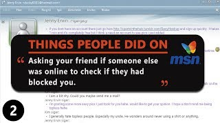 MSN Messenger Memories... good times. Submit and see more social media things: http://www.calbel.com Credit:...