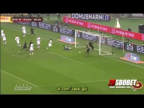 คลิปไฮไลท์ โคปปา อิตาเลีย - โรม่า 1 - 0 ซามโดเรีย   10/01/2014 - 2BSBOBET.COM