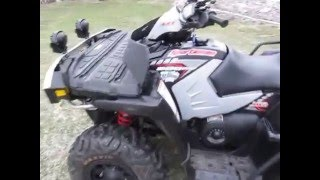 10. Polaris Sportsman 800 2005 walk around