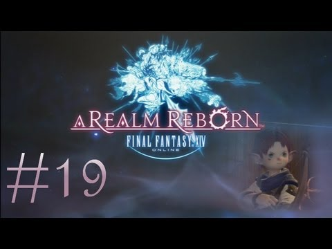 Final Fantasy XIV: A Realm Reborn (PS3) Commentary #19: Guild Hunting In Gridania