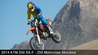 9. 2014 KTM 250 SX-F - 2014 250 Motocross Shootout Part 4 - MotoUSA