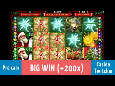 Deck the Halls - BIG WIN - Bet size: $1.20