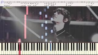 Сезон дождей - Alekseev (Ноты и Видеоурок для фортепиано) (piano cover)