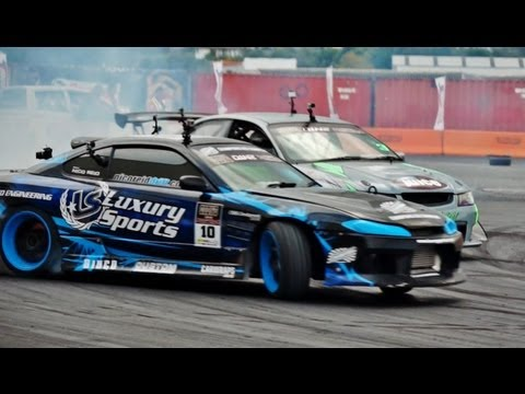 Cody's D1NZ Drifting Highlights - Round 2 Whangarei - 2012/13 Season