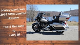 1. 2018 Harley Davidson Ultra Limited Review - Top 5 Reasons to Buy One