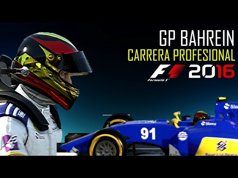 F1 2016 Carrera Profesional  GP Bahrein  Temp.1