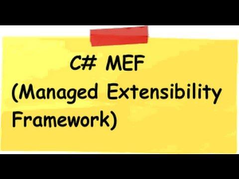 .NET 4.0 MEF