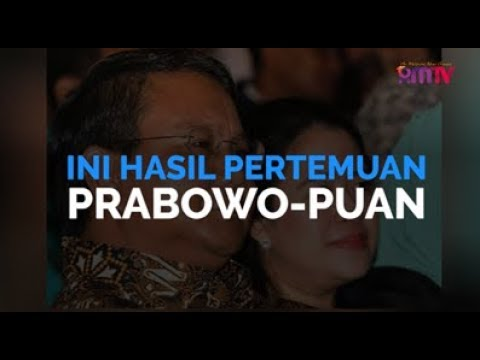 Ini Hasil Pertemuan Prabowo Dan Puan