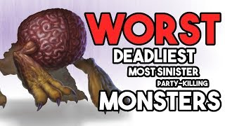 Video 9 WORST Monsters in D&D!! MP3, 3GP, MP4, WEBM, AVI, FLV Juli 2018