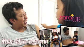 Video Zara main dokter dokteran sama Papa 😍 Belajar Kesehatan dengan Boneka Teddy Bear   Zara News MP3, 3GP, MP4, WEBM, AVI, FLV Februari 2019