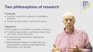 The Nature Of Social Research