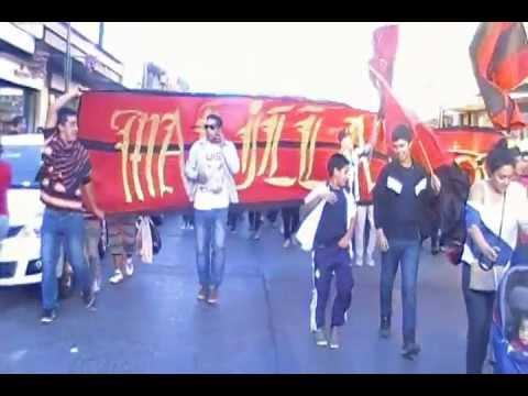 Los RojiNegroS - Marcha contra Ley (E.S) - Los Rojinegros - Rangers de Talca