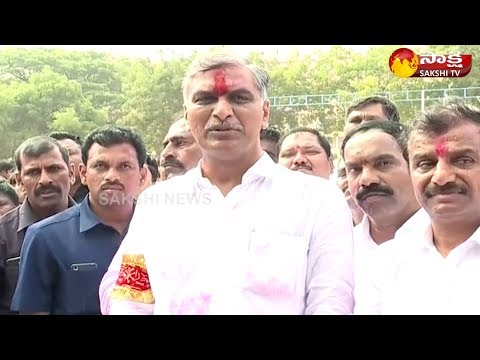 Harish Rao Speaks To Media | Won With Record Majority In Siddipet | #TelanganaElectionResults2018