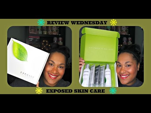 REVIEW WEDNESDAY: Exposed Skin Care ( Acne Treatme