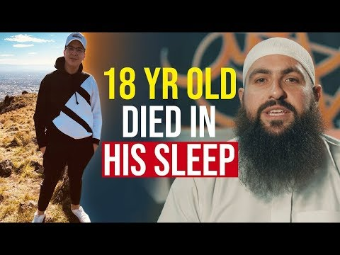 18 YEAR OLD GUEST DIES IN HIS SLEEP