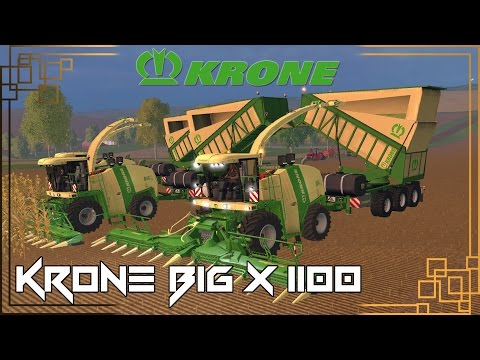Krone Big X 1100 Beast Pack v12.10 (Beta)