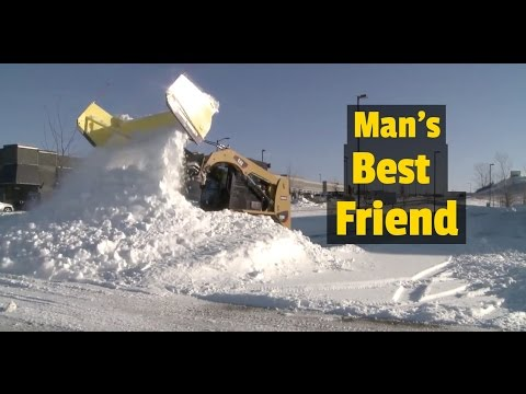 The Dumbest  Snow Plow Ever Made for a Skid Steer