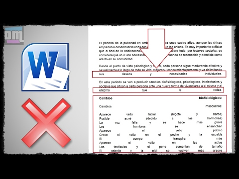 Tutorial 2018: Como Eliminar Espacios Al Justificar Texto En Microsoft Office Word