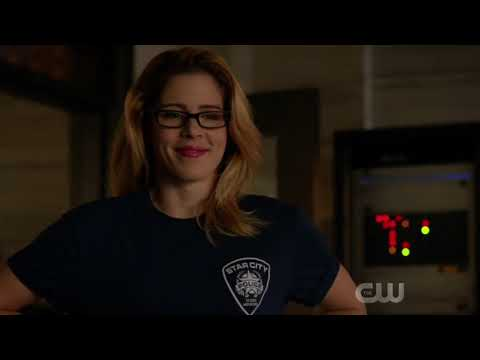 """Olicity 7.15 - Part 1 Team Arrow """"Training"""" With the SCPD"""