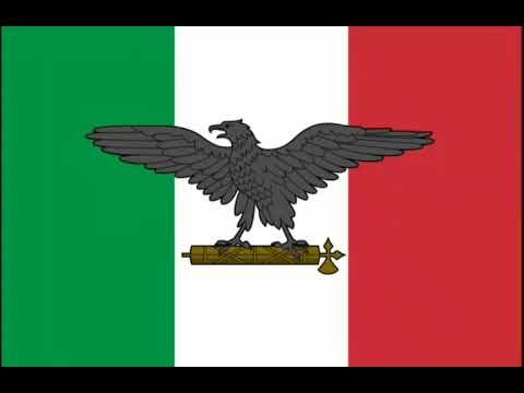 """Inno della Repubblica Sociale Italiana - Anthem of the Socialist Italian Republic - """"Giovinezza"""""""