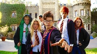 Harry Potter - Hogwarts High School | Lele Pons & Rudy Mancuso