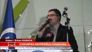 Prof. Dr. Nihat Hatipoğlu ile Dua Gecesi Çorum da Büyük Yankı Uyandırdı
