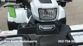 3. 2017 Honda FourTrax Foreman 4x4