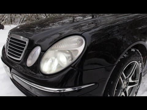 Понты дороже денег! Купил Mercedes w211 (видео)