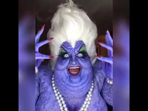 Incredible Ursula Cosplay from The Little Mermaid