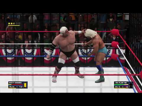 WWE 2K18 - Ric Flair vs. Dusty Rhodes (World Title'88)