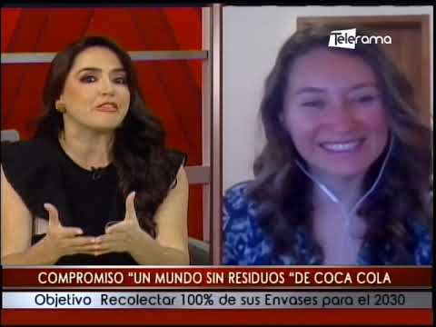 Compromiso un Mundo sin Residuos De Coca Cola objetivo recolectar 100% de sus envases para el 2030