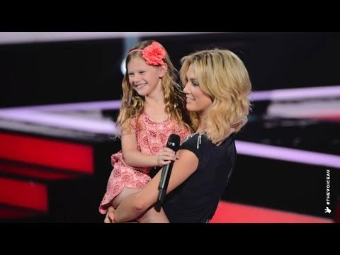 Olivia Sings Roar, The Voice Kids Australia 2014