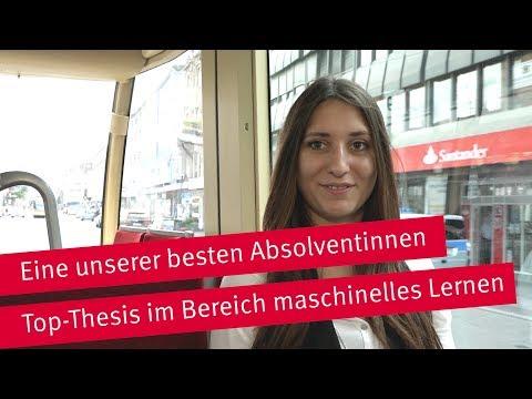 Eine unserer besten Absolventinnen: Yael Widmann