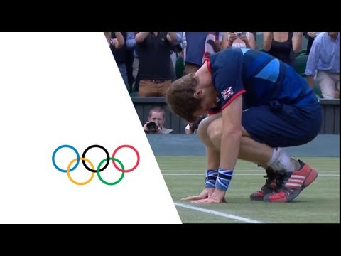 Tennis Men's Singles Finals – Great Britain GOLD –  London 2012 Olympic Games Highlights
