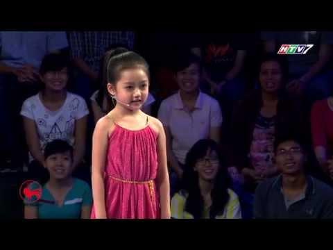 Cô bé 5 tuổi thi Thách Thức Danh Hài cực dễ thương