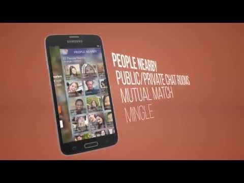 Video of Mingle - Mobile Chat Rooms
