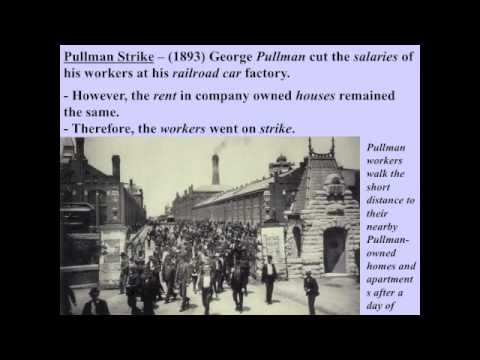 Labor Strike - Rise of Labor Unions and Important Strikes during the Industrial Revolution.