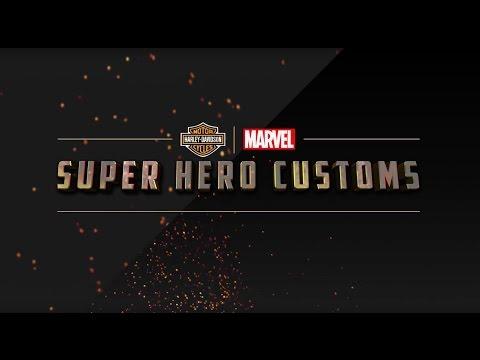 哈雷與MARVEL合作,推出27台超級英雄主題機車